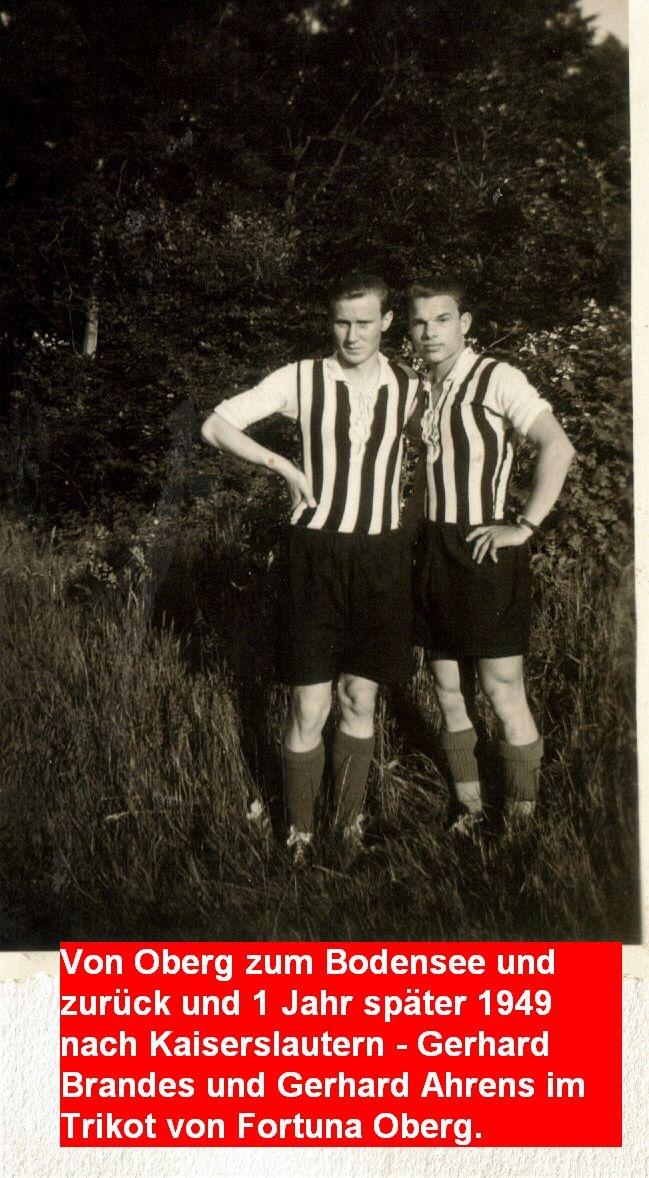 Gerhard Brandes und Gerhard Ahrens