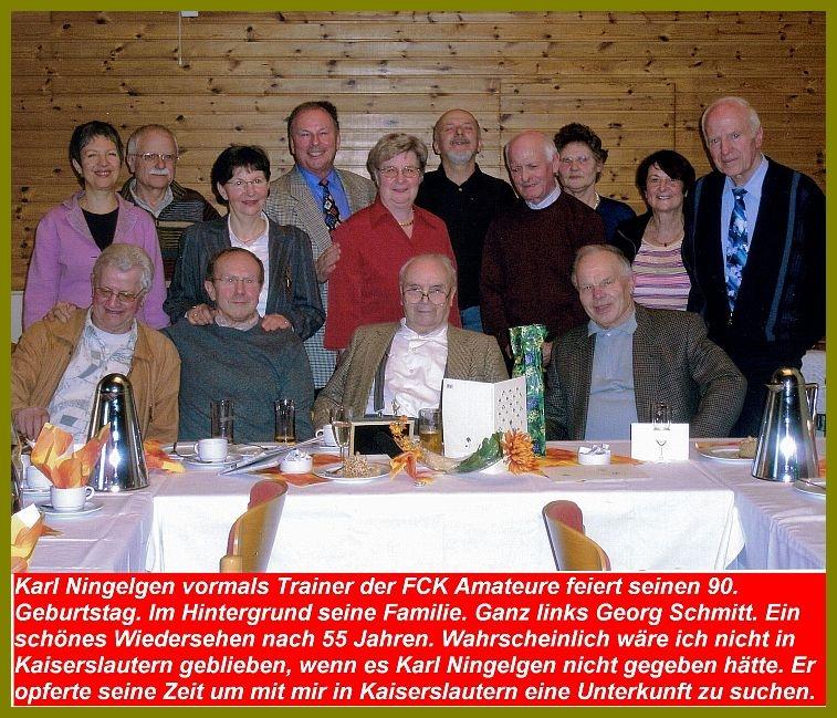 Karl Ningelgen 90 Jahre