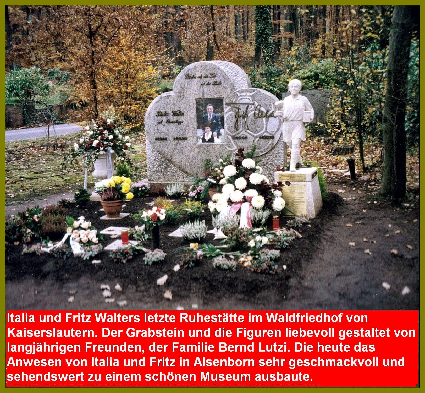 Fritz Walter Grabstätte