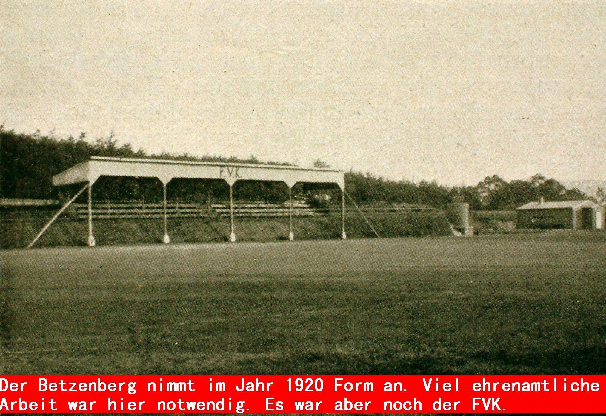 Betzenberg 1920