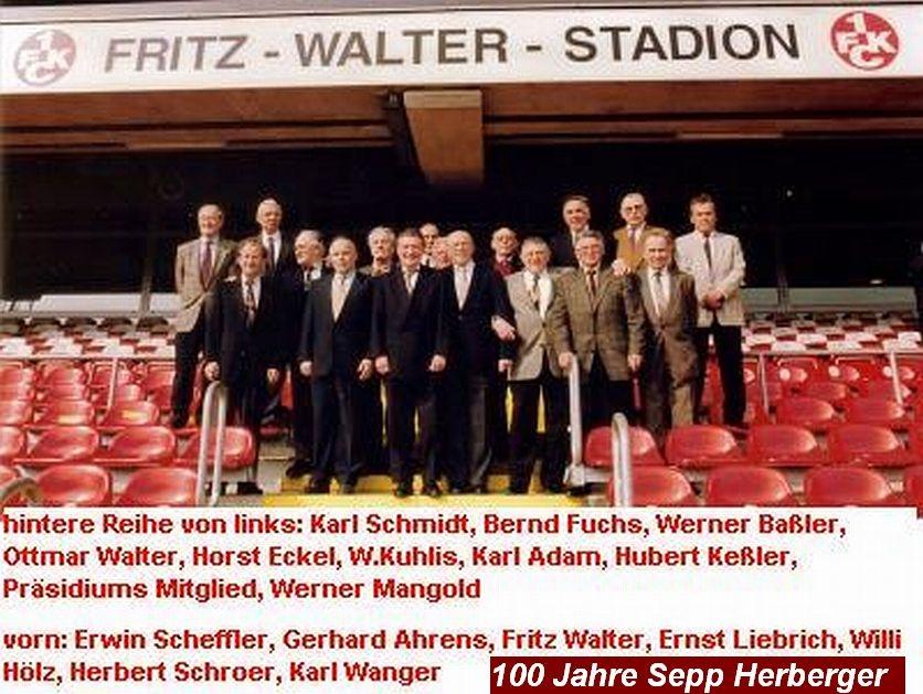 Ernst Liebrich im Fritz Walter Stadion