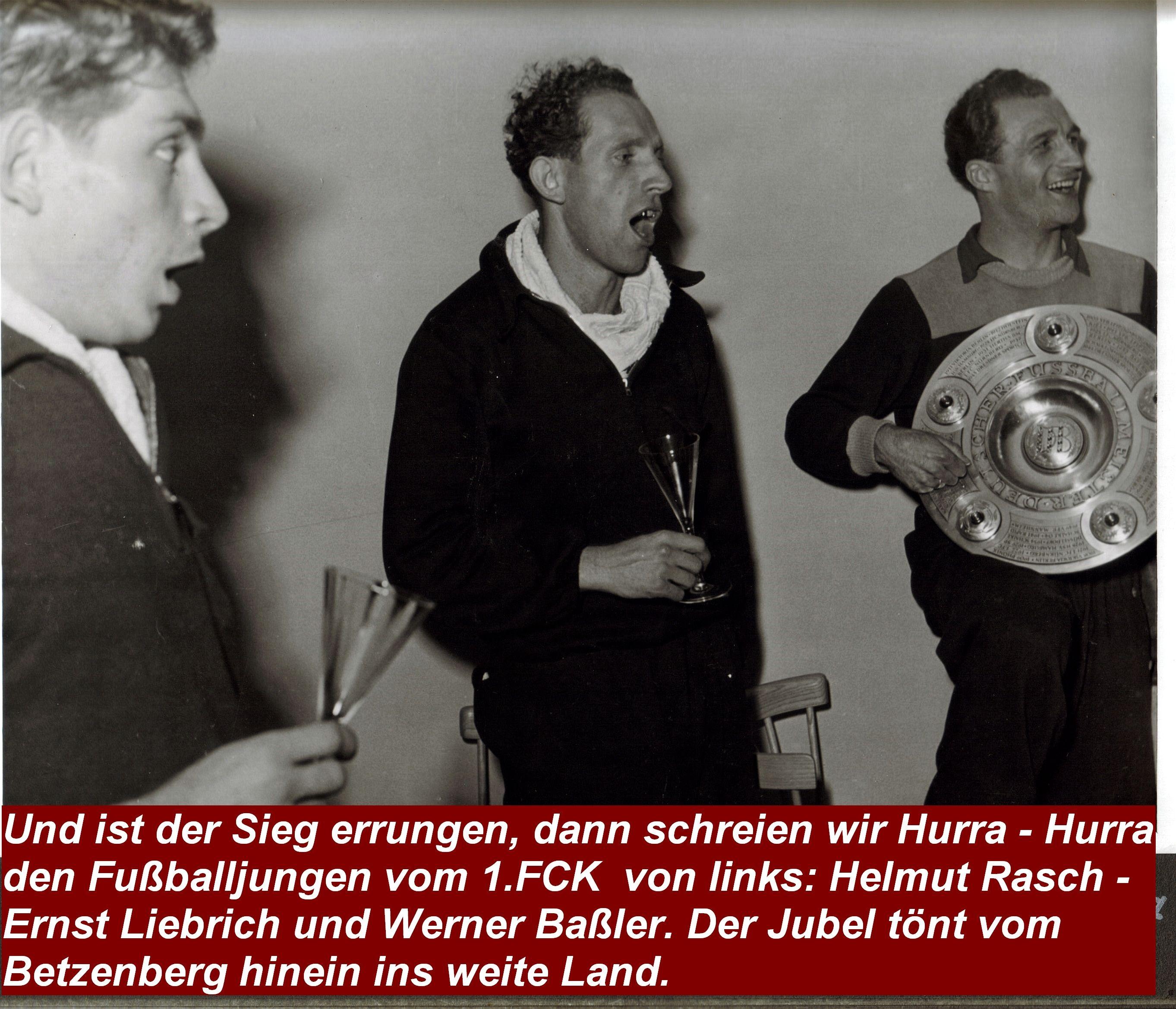 1951 Bild mit Ernst Liebrich