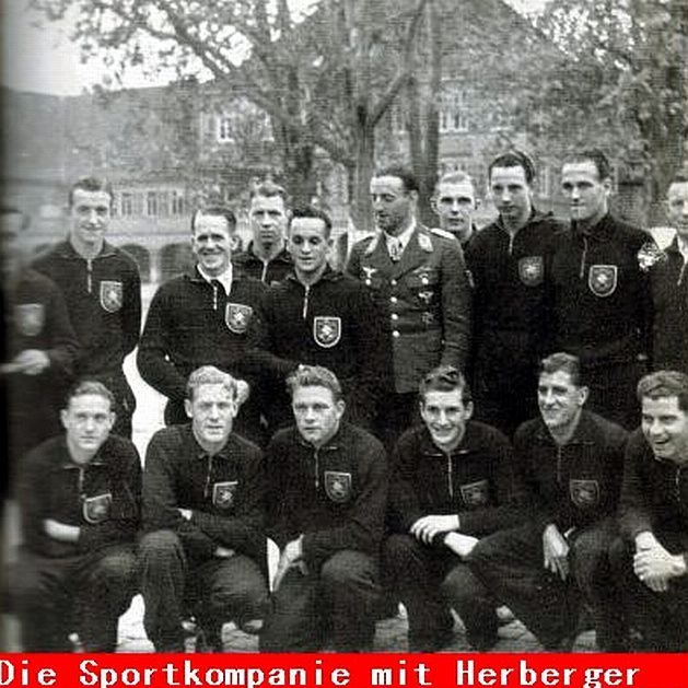 Sportkompanie mit Sepp Herberger