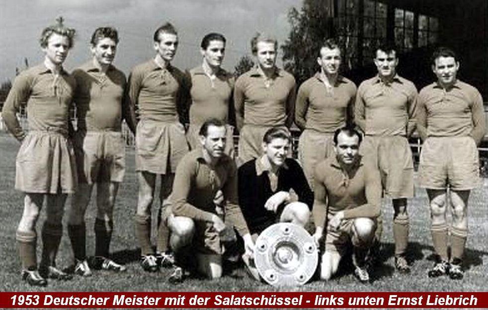 Meister mit Schale 1953