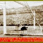 Fußball WM 1954 - Das dritte Tor