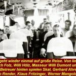 12-Mannschaft im Bus