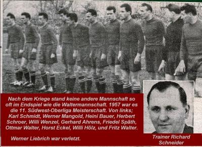 13-Waltermannschaft 1957