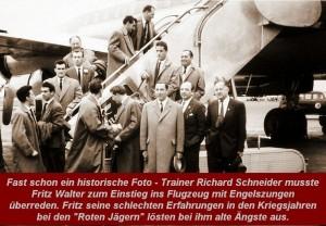 Flug Fritz Walter