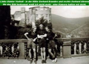 Gerhard Brandes, Günter Vorholt und Gerhard Ahrens