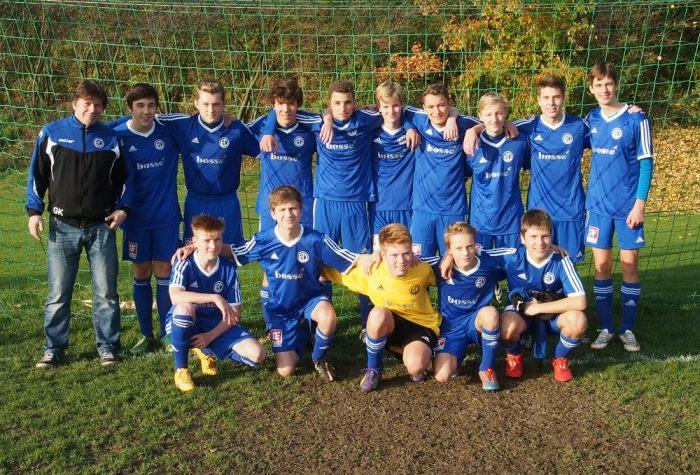 Jugendmannschaft der SG Everloh/Ditterke