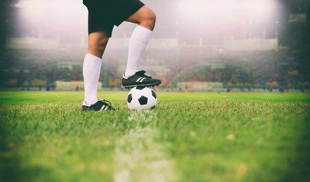 Fussball beim Anstoss